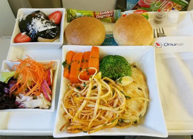 پرواز به oman-air-food
