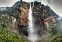 آبشار آنجل بلندترین آبشار در دنیا