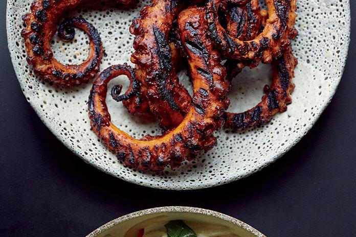 اختاپوس کبابی - غذاهای ازمیر