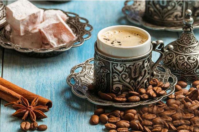 قهوه ترک - غذاهای ازمیر