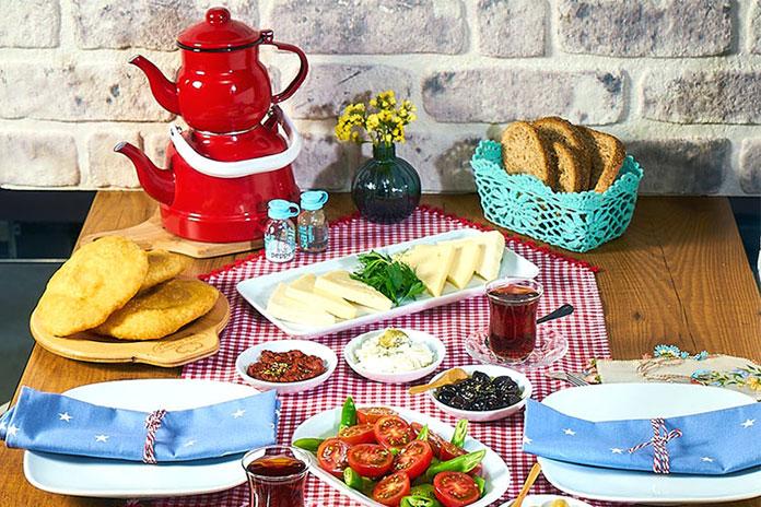 صبحانه ترکی - غذاهای ازمیر