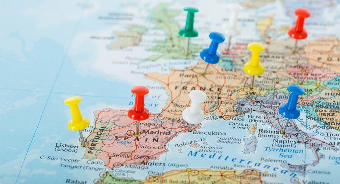 محدودیت مرزهای خارجی اروپا